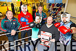 Sarah Blake, Maurice King, John Blake, Mike Connell, Sean Farrell, John Farrell. Launch White Collar Boxing Fight Night 2014 in aid of Beale GAA on Saturday the 27th of December at Ballybunion Community Centre.  Doors open at 7.30pm