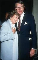 Barbara Hale, Don Galaway, 1993, Photo By Michael Ferguson/PHOTOlink