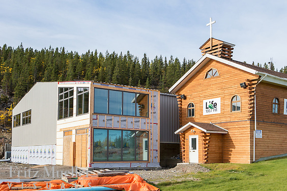 Renovation of Bethany Church in Whitehorse, Yukon. Architect: Northern Front Studio