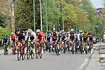 The start of the 104th edition of La Doyenne, Liege-Bastogne-Liege 2018 running 258.5km from Liege to Ans, Belgium. 22nd April 2018.<br /> Picture: ASO/Karen Edwards | Cyclefile<br /> <br /> <br /> All photos usage must carry mandatory copyright credit (&copy; Cyclefile | ASO/Karen Edwards)