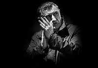 Blackburn Rovers manager Tony Mowbray Applauds the crowd at the end of todays match<br /> <br /> Photographer Rachel Holborn/CameraSport<br /> <br /> The EFL Sky Bet League One - Gillingham v Blackburn Rovers - Tuesday 10th April 2018 - Priestfield Stadium - Gillingham<br /> <br /> World Copyright &copy; 2018 CameraSport. All rights reserved. 43 Linden Ave. Countesthorpe. Leicester. England. LE8 5PG - Tel: +44 (0) 116 277 4147 - admin@camerasport.com - www.camerasport.com