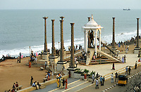 "Asien Indien IND .Mahatma Gandhi Statue Denkmal in Pondicheri - Politik Unabh?ngigkeit Freiheitsbewegung Gewaltlosigkeit ziviler Ungehorsam gegen Kolonialmacht Kolonie Zivilgesellschaft Staat indische Union Demokratie xagndaz | .Asia India .Freedom fighter Mahatma Gandhi memorial - nonviolence movement Independence struggle ahimsa democracy .| [copyright  (c) agenda / Joerg Boethling , Veroeffentlichung nur gegen Honorar und Belegexemplar an / royalties to: agenda  Rothestr. 66  D-22765 Hamburg  ph. ++49 40 391 907 14  e-mail: boethling@agenda-fototext.de  www.agenda-fototext.de  Bank: Hamburger Sparkasse BLZ 200 505 50 kto. 1281 120 178  IBAN: DE96 2005 0550 1281 1201 78 BIC: ""HASPDEHH"" ,  WEITERE MOTIVE ZU DIESEM THEMA SIND VORHANDEN!! MORE PICTURES ON THIS SUBJECT AVAILABLE!! INDIA PHOTO ARCHIVE: http://www.visualindia.net] [#0,26,121#]"