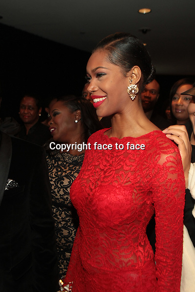 Model/Actress Jessica White attends the 2013 Ebony Power 100 Gala held at Jazz at Lincoln Center on November 4, 2013 in New York City.<br />