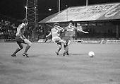 03/09/1980 Blackpool v Everton  League Cup 2nd Round 2nd Leg .Wayne Harrison shoots....© Phill Heywood.