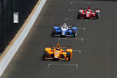 Verizon IndyCar Series<br /> Indianapolis 500 Carb Day<br /> Indianapolis Motor Speedway, Indianapolis, IN USA<br /> Friday 26 May 2017<br /> Fernando Alonso, McLaren-Honda-Andretti Honda<br /> World Copyright: Phillip Abbott<br /> LAT Images<br /> ref: Digital Image abbott_indy_0517_27879