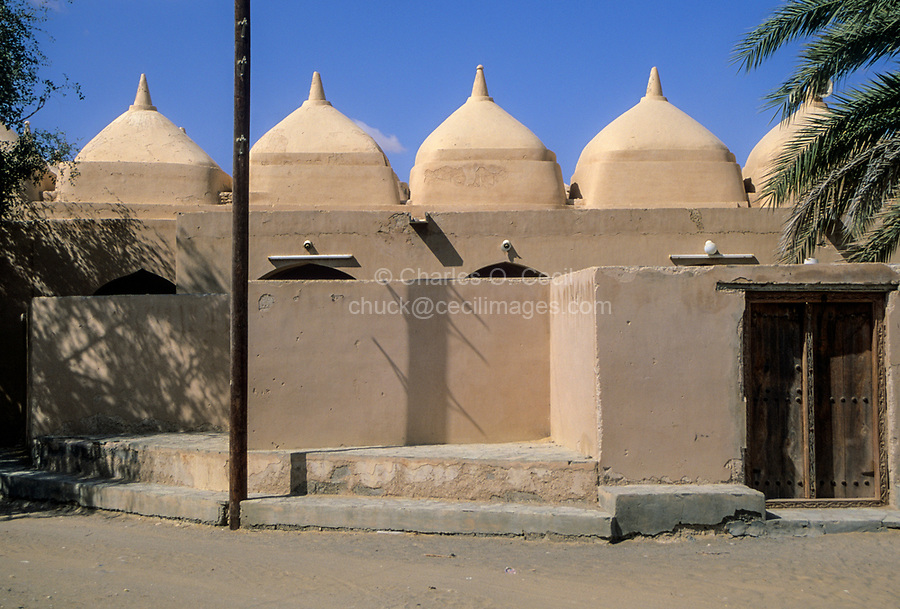 Jalan Bani Bu Ali, Oman.  Entrance to Mosque of Rashid bin Hamouda.