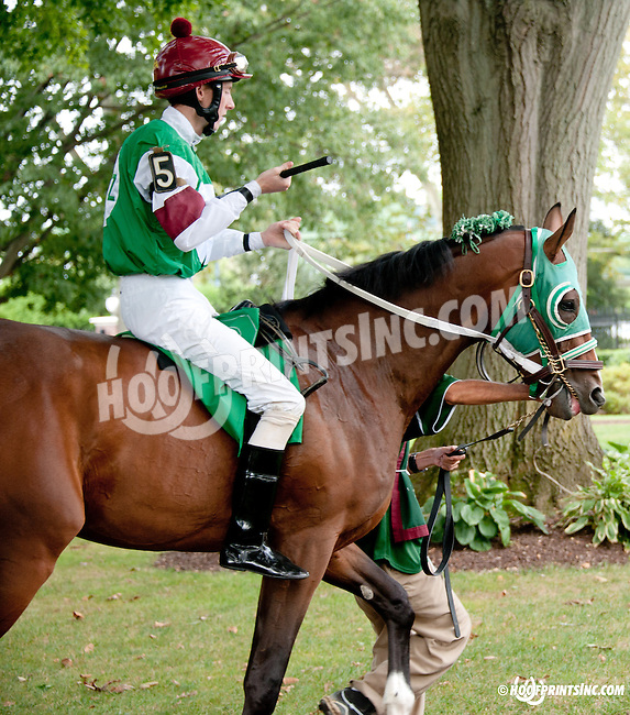 Vindicated before The First State Dash at Delaware Park on 9/14/13