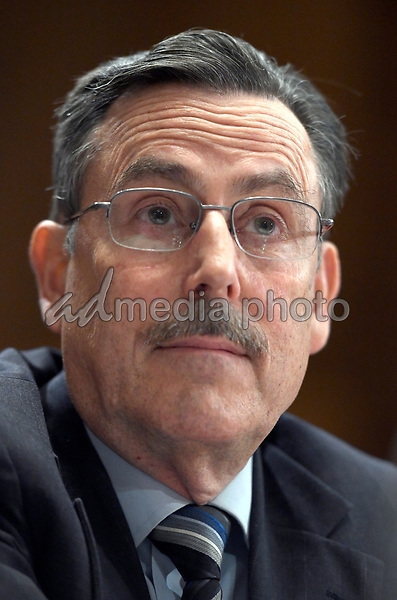 Dr. Michael Dourson appears before the United States Senate Committee on Environment and Public Works to testify on his nomination as the assistant administrator for the Office of Chemical Safety and Pollution Prevention at the Environmental Protection Agency (EPA) on Capitol Hill in Washington, DC on Wednesday, October 4, 2017. Photo Credit: Ron Sachs/CNP/AdMedia