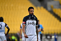 Melbourne Victory&rsquo;s Rhys Willams in action during the A League - Wellington Phoenix v Melbourne Victory FC at Westpac Stadium, Wellington, New Zealand on Wednesday 10 January 2018. <br /> Photo by Masanori Udagawa. <br /> www.photowellington.photoshelter.com