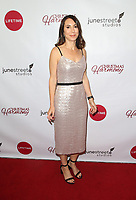 """LOS ANGELES, CA - NOVEMBER 7: Claudia Schwarz, at Premiere of Lifetime's """"Christmas Harmony"""" at Harmony Gold Theatre in Los Angeles, California on November 7, 2018. Credit: Faye Sadou/MediaPunch"""