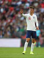 England's Mason Mount<br /> <br /> Photographer Rob Newell/CameraSport<br /> <br /> UEFA European Championship Qualifying Group A - England v Bulgaria - Saturday 7th September 2019 - Wembley Stadium - London<br /> <br /> World Copyright © 2019 CameraSport. All rights reserved. 43 Linden Ave. Countesthorpe. Leicester. England. LE8 5PG - Tel: +44 (0) 116 277 4147 - admin@camerasport.com - www.camerasport.com
