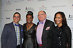 Candace Matthews and friends  - The 11th Annual Skating with the Stars Gala - a benefit gala for Figure Skating in Harlem on April 11, 2016 on Park Avenue in New York City, New York with many Olympic Skaters and Celebrities. (Photo by Sue Coflin/Max Photos)