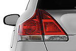 Tail light close up detail view of a 2009 Toyota Venza
