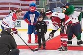 Josh Holmstrom (UML - 12), Josh Manson (NU - 3) - The Northeastern University Huskies defeated the University of Massachusetts Lowell River Hawks 4-1 (EN) on Saturday, January 11, 2014, at Fenway Park in Boston, Massachusetts.