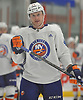 Michael Babcock #44 plays during the final scrimmage of New York Islanders Mini Camp at Northwell Health Ice Center in East Meadow on Saturday, June 30, 2018.