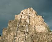 Lubon 10.08.2016 Poland <br /> Stack of straw. <br /> Photo: Michal Adamski / Napo Mentor<br /> <br /> Stog slomy.<br /> Photo: Michal Adamski / Napo Mentor