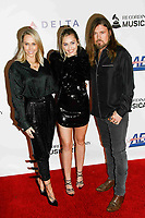 LOS ANGELES, CA - FEBRUARY 08: Tish Cyrus, Miley Cyrus, Billy Ray Cyrus at the MusiCares Person of the Year Tribute held at Los Angeles Convention Center, West Hall on February 8, 2019 in Los Angeles, California. <br /> CAP/MPI/IS<br /> &copy;IS/MPI/Capital Pictures