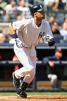 09/19/11 Bronx, NY: New York Yankees shortstop Derek Jeter #2 during an MLB game played at Yankee Stadium between the Minnesota Twins and the New York Yankees. The Yankees defeated the Twins 6-4.