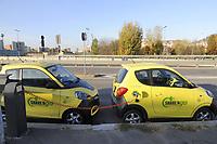 - stazione di ricarica per automobili elettriche del servizio Share'n'Go<br /> <br /> - charging station for electric cars of the Share'nGo<br />  service