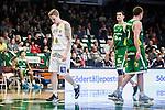 S&ouml;dert&auml;lje 2015-10-01 Basket Basketligan S&ouml;dert&auml;lje Kings - Uppsala Basket :  <br /> Uppsalas Axel Nordstr&ouml;m deppar under matchen mellan S&ouml;dert&auml;lje Kings och Uppsala Basket <br /> (Foto: Kenta J&ouml;nsson) Nyckelord:  Basket Basketligan S&ouml;dert&auml;lje Kings SBBK T&auml;ljehallen Uppsala Seriepremi&auml;r Premi&auml;r depp besviken besvikelse sorg ledsen deppig nedst&auml;md uppgiven sad disappointment disappointed dejected