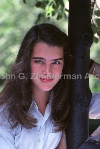 Brooke Shields, Central Park, New York City, 1979.