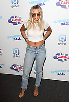 Rita Ora at the Capital FM Summertime Ball at Wembley Stadium, London on June 8th 2019<br /> CAP/ROS<br /> ©ROS/Capital Pictures