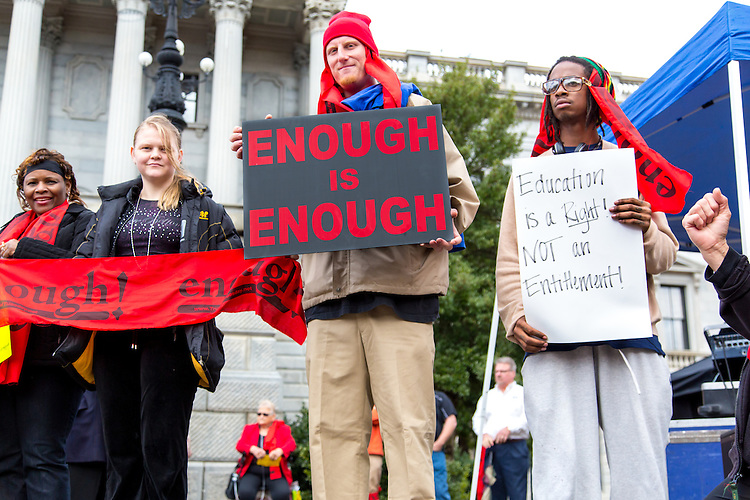 Enough Is Enough - Medicaid Rally at the S.C. State House