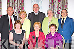 Lyrecompane Community Development committee at the Kerry Community Awards in the Dromhall Hotel on Sunday l-r: Breda Keane, Bridget Naughton, Mary Buckley. Back row: Pat Carmody, Mary Leane, Larry Long, Kitty O'Connell and Michael Naughton..