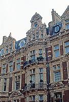 London: Victorian Facade, 1887. Mayfair (Mount St.)