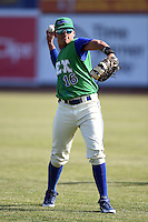 Lexington Legends designated hitter Samir Duenez (16) warms up before a game against the Hagerstown Suns on May 19, 2014 at Whitaker Bank Ballpark in Lexington, Kentucky.  Lexington defeated Hagerstown 10-8.  (Mike Janes/Four Seam Images)