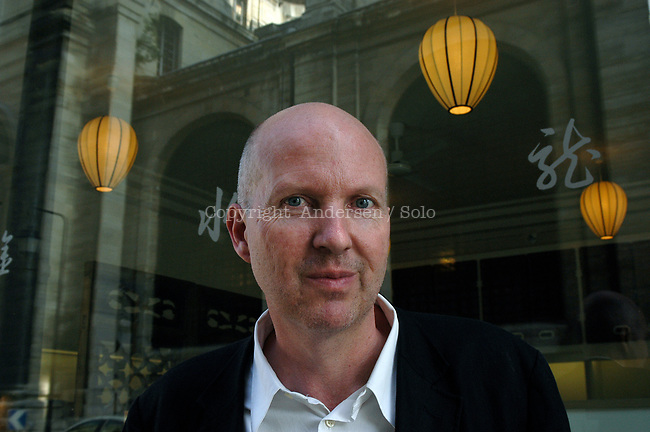 Jean Philippe Toussaint in Paris.