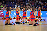 League ACB-ENDESA 2017/2018.<br /> PlayOff-Semifinal-Game: 3<br /> FC Barcelona Lassa vs Kirolbet Baskonia: 67-65.<br /> Dream Cheers.
