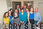 BIRTHDAY GIRL: Margaret Canty, Killeen Wood (centre) celebrated her birthday with family and friends in Cassidy's restaurant, Tralee last Saturday night, with her were l-r: Traeasa Walsh, Helen Kelliher, katie Callighan, Dolly Lawlor, Kim Canty, Caroline Tangney, Owen Canty, Richard Kelly, Mary Byrne, Loretta Kelly and Pat Tangney.