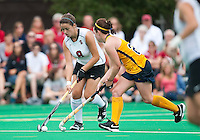 STANFORD, CA - September 19, 2010: Becky Dru during the Stanford Field Hockey game against Cal in Stanford, California. Stanford lost 2-1.