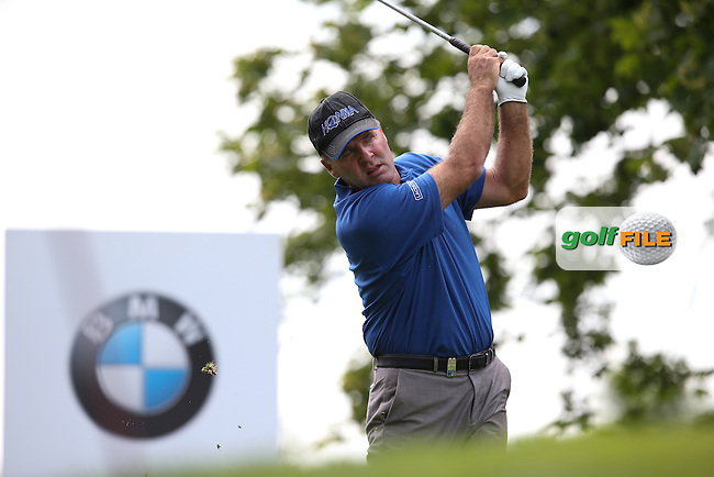Thomas Levet (FRA) during Round Two of the 2015 BMW International Open at Golfclub Munchen Eichenried, Eichenried, Munich, Germany. 26/06/2015. Picture David Lloyd | www.golffile.ie