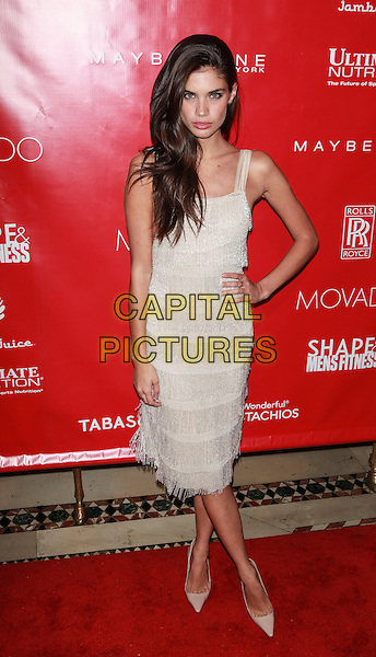 New York, NY- January 31: Sara Sampaio at Shape &amp; Men's Fitness Kickoff Party at Cipriani 42nd Street on January 31, 2014 in New York City.  <br /> CAP/MPI/COR<br /> &copy;Corredor99/ MediaPunch/Capital Pictures