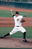 Seth Blair of the Arizona State Sun Devils pitching against the Oral Roberts Eagles in the Tempe Regionals at Packard Stadium, Tempe, AZ - 05/31/2009.Photo by:  Bill Mitchell/Four Seam Images