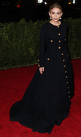 "NEW YORK CITY, NY, USA - MAY 05: Ashley Olsen at the ""Charles James: Beyond Fashion"" Costume Institute Gala held at the Metropolitan Museum of Art on May 5, 2014 in New York City, New York, United States. (Photo by Xavier Collin/Celebrity Monitor)"