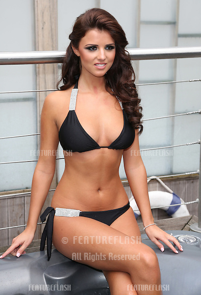 Lucy Mecklenburgh launches her Bella Bamba swimwear.London, England. 11/07/2012 Picture by: Henry Harris / Featureflash