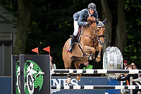 FRA-Kevin Staut (AYADE DE SEPTON ET HDC) FINAL-3RD: EVERSHEDS PRIJS: Table A Against The Clock (150cm) 2014 NED-CHIO Rotterdam (Friday 20 June) CREDIT: Libby Law COPYRIGHT: LIBBY LAW PHOTOGRAPHY - NZL