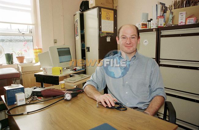 Dr Tony O'Sullivan .See Karen McManus Story.Pic Fran Caffrey Newsfile