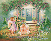 Dona Gelsinger, CHILDREN, KINDER, NI&Ntilde;OS, paintings+++++,USGE0507,#k#<br />