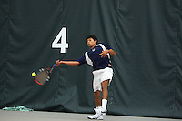 8 May 2009: 2009 Men's NCAA Tennis Tournament Round 1
