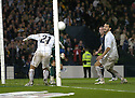 17/11/2007      Copyright Pic: James Stewart.File Name : sct_jspa03_scotland_v_italy.DAVID WEIR HEADER IS CLEARED OFF THE LINE BY ANDREA PIRLO....James Stewart Photo Agency 19 Carronlea Drive, Falkirk. FK2 8DN      Vat Reg No. 607 6932 25.Office     : +44 (0)1324 570906     .Mobile   : +44 (0)7721 416997.Fax         : +44 (0)1324 570906.E-mail  :  jim@jspa.co.uk.If you require further information then contact Jim Stewart on any of the numbers above........