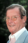 Roger Moore at the NATPE Conference, New Orleans, LA on January 25, 1999.
