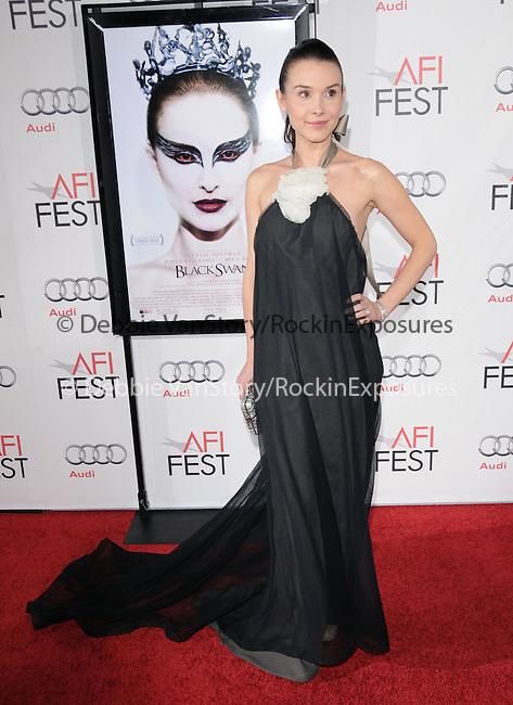 Kristina Anapau attends the AFI Fest 2010 Closing Night Gala - Black Swan Premiere held at The Grauman's Chinese Theatre in Hollywood, California on November 11,2010                                                                               © 2010 Hollywood Press Agency