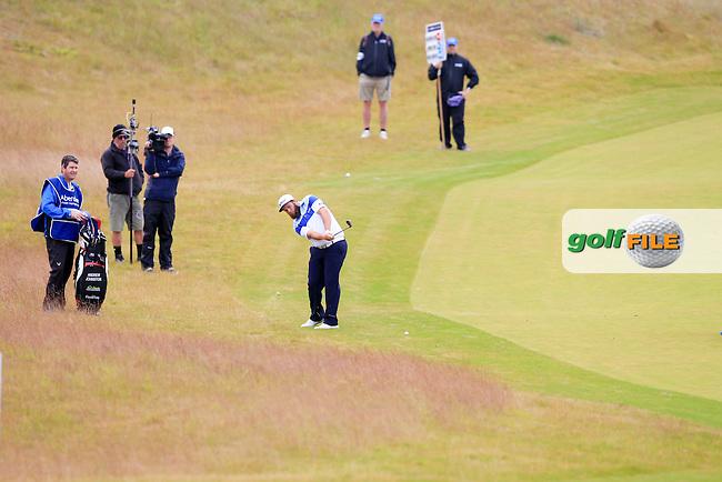 Andrew Johnston (ENG) during round 2 of the Aberdeen Asset Management Scottish Open 2016, Castle Stuart  Golf links, Inverness, Scotland. 08/07/2016.<br /> Picture Fran Caffrey / Golffile.ie<br /> <br /> All photo usage must carry mandatory copyright credit (&copy; Golffile | Fran Caffrey)