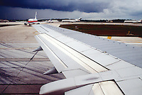 AIRPLANE WING<br /> Use of Composite Material in Structure<br /> During takeoff and in flight.