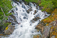 Waterfall<br /> Pemberton<br /> British Columbia<br /> Canada