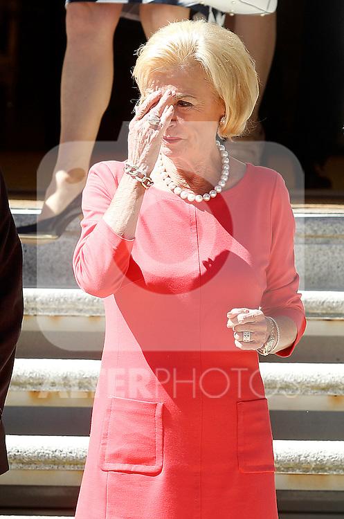 Ms. Liz Mohn, president of the Bertelsmann Foundation. May 26,2014. (ALTERPHOTOS/Acero)